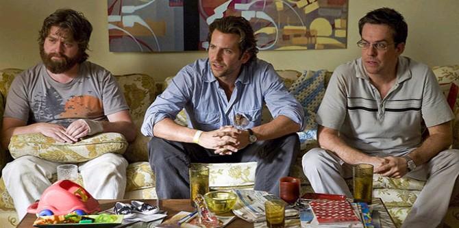 Pařba ve Vegas, Zach Galifianakis, Bradley Cooper, Ed Helms
