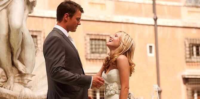 Josh Duhamel, Kristen Bell, Rande v Římě
