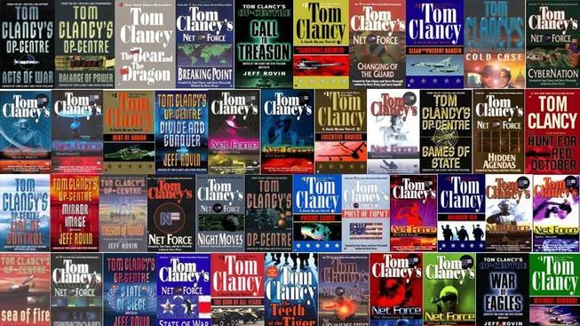 Tom Clancy - knihy