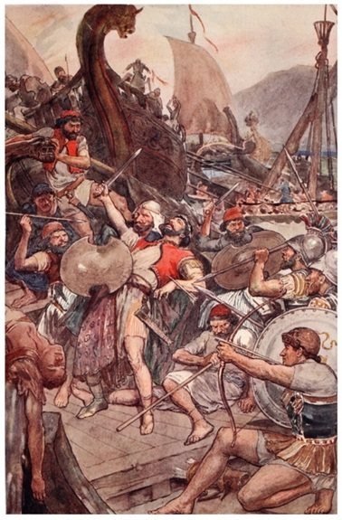 Death_of_the_Persian_admiral_at_Salamis