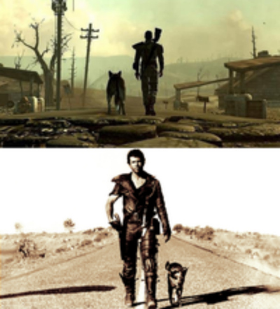 mad max fallout 3 dog