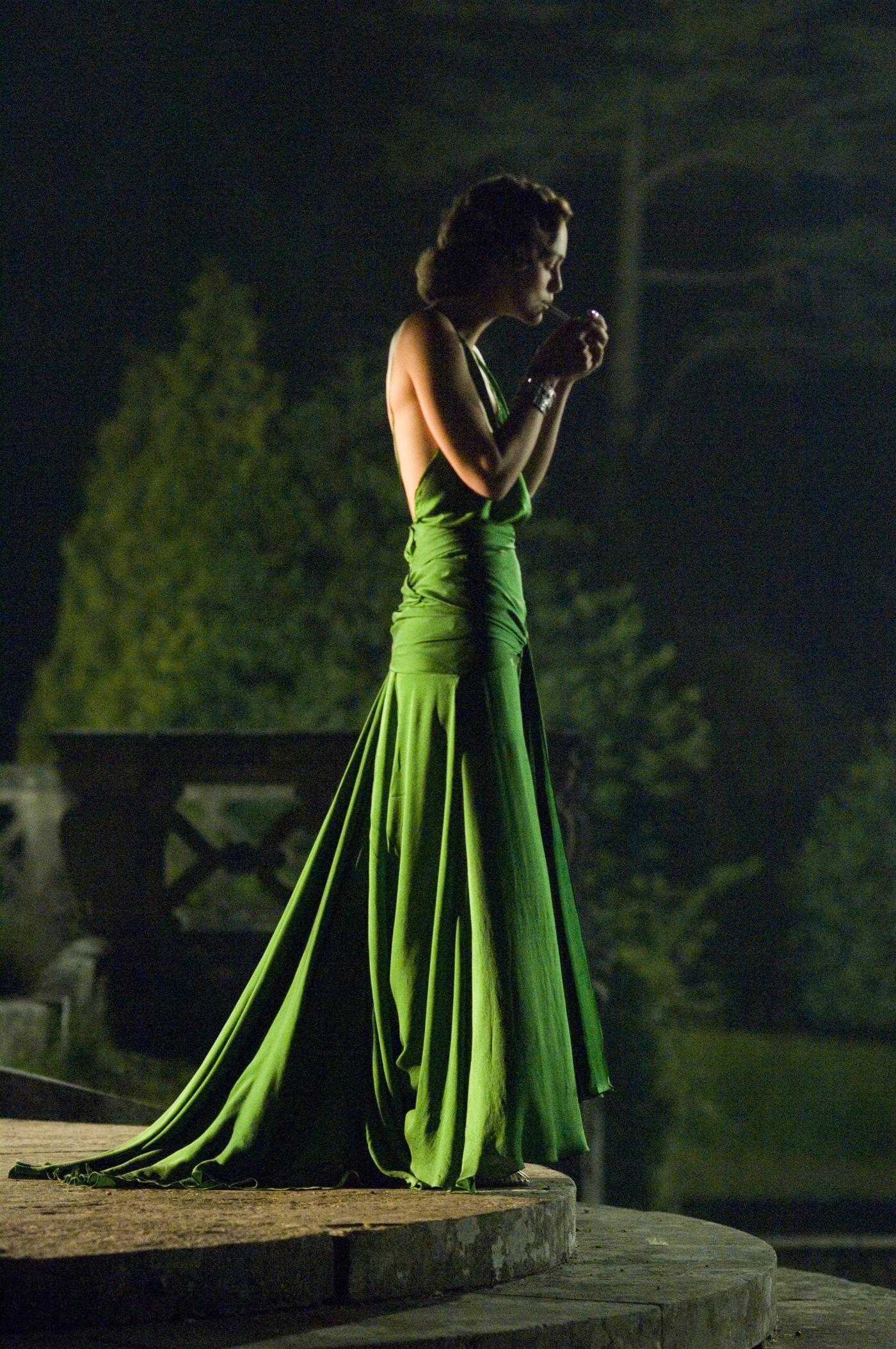 keira knightley green dress