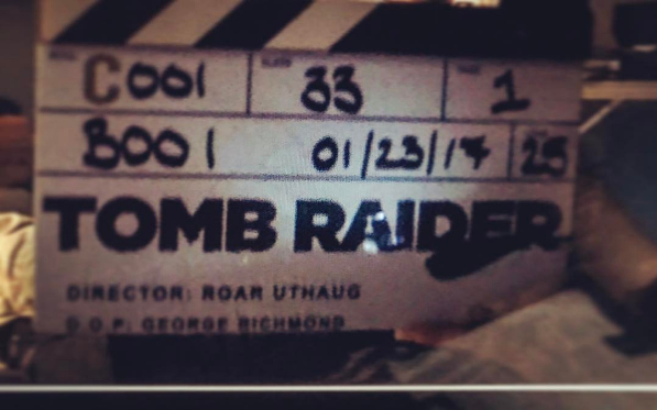 tomb raider 2018 movie shooting