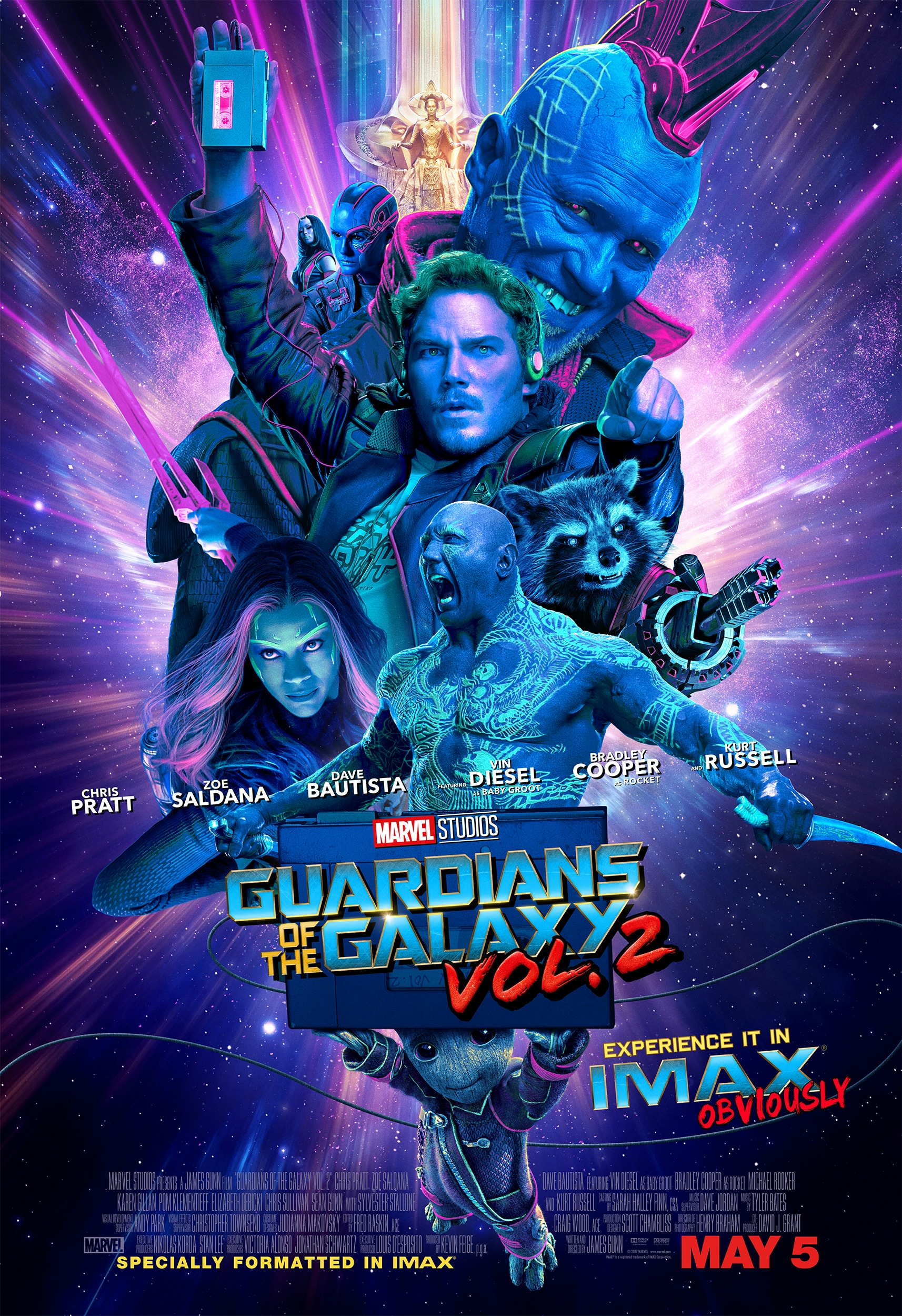 guardians of the galaxy vol 2 imax poster
