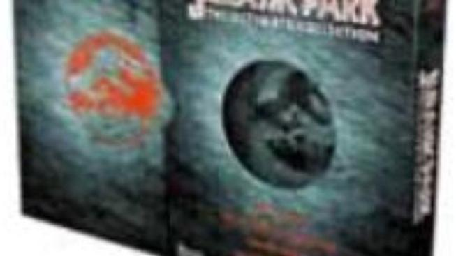 Co obsahuje DVD Jurský park: Sběratelská kolekce - technická data o jednotlivých discích