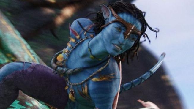 Zoe Saldana (Neytiri) -- Víkend s Avatarem