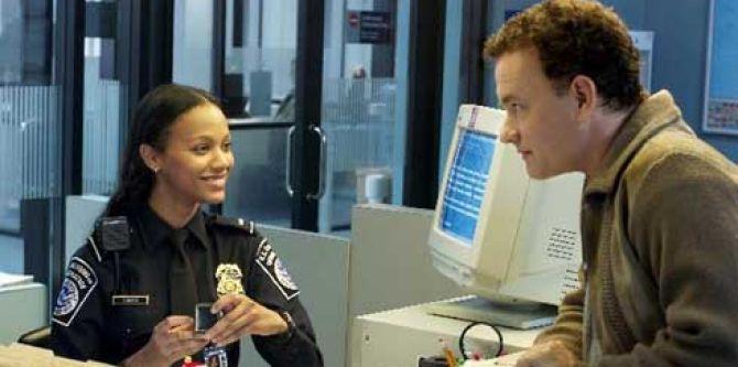 Terminal: Zoe Saldana a Tom Hanks
