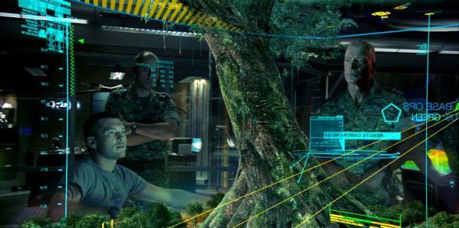 Avatar: Jake si prohlíží Strom života