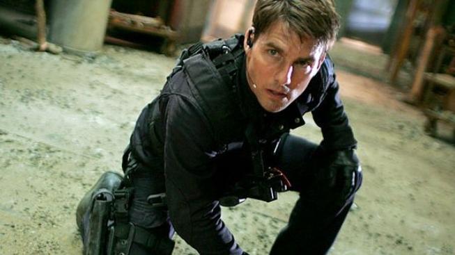Tom Cruise v hlavní roli filmu Mission: Impossible IV