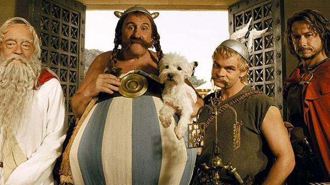 Gérard Depardieu se znovu objeví v roli Obelixe