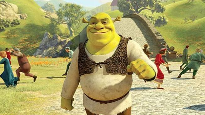 Eddie Murphy a Melanie Brown se sešli na premiéře posledního dílu Shreka