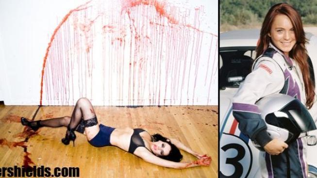 Nové fotky Lindsay Lohanové: Umění nebo lehké porno?
