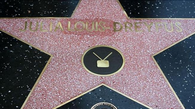 Herečka Julia Louis-Dreyfus má hvězdu na hollywoodském chodníku slávy