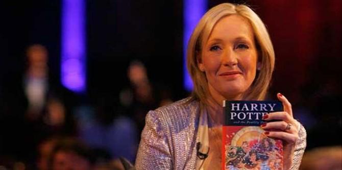 Joanne Rowling - spisovatelka