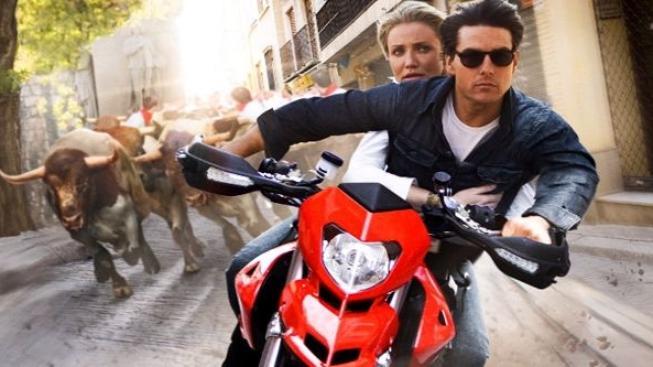 Tom Cruise a Cameron Diaz zhlédli v Salcburku svůj snímek Zatím spolu, zatím živí