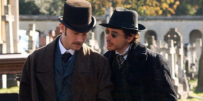 Sherlock Holmes, Jude Law, Robert Downey Jr.
