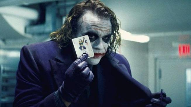 Černý rytíř, Heath Ledger, The Joker