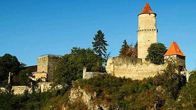 Na hradě Zvíkov se natáčela nová vánoční pohádka