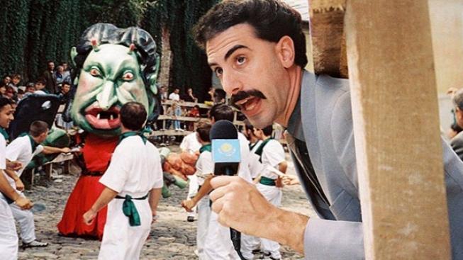 Kazachstán se chystá odpovědět na zesměšňující snímek Borat