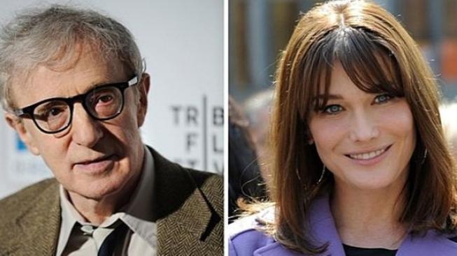 Manželka francouzského prezidenta bude hrát v Allenově filmu