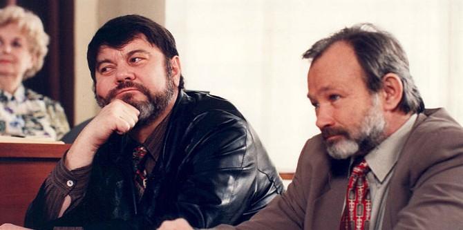 Martin Štěpánek, Rudolf Hrušinský ml.