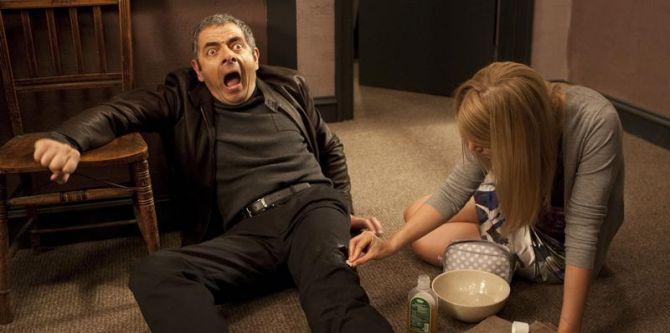 Rowan Atkinson ve filmu Johnny English se vrací