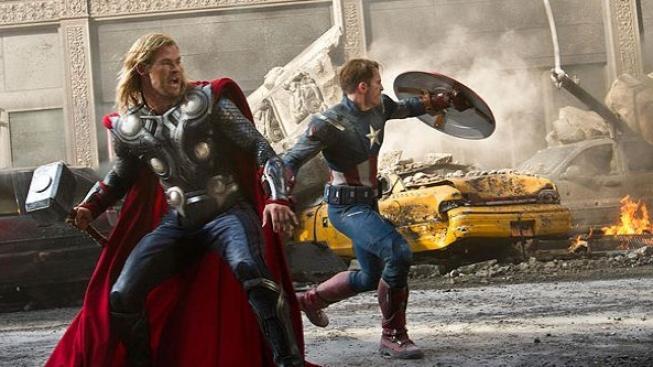 Film Avengers se bude promítat i na ISS