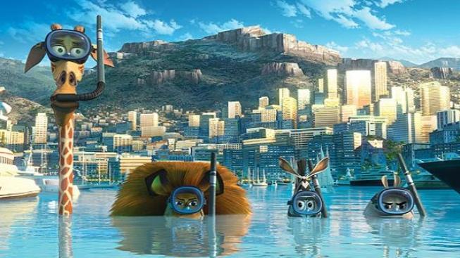 Animovaný Madagaskar 3 opět vede návštěvnost českých kin