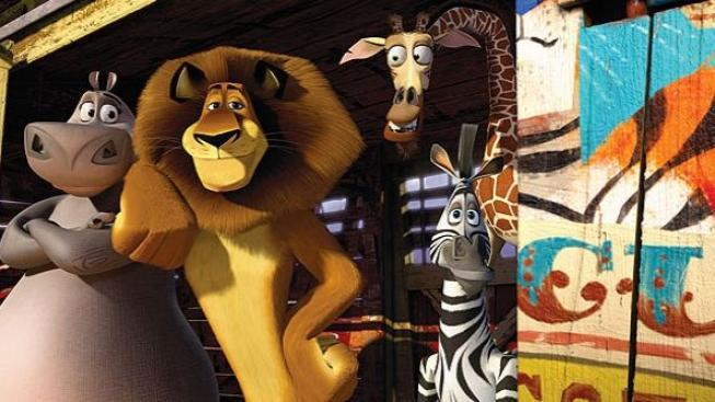 Američtí diváci chodili nejvíc na animovaný Madagaskar 3