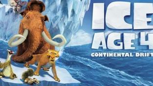 Animovaná Doba ledová 4 kralovala víkendové návštěvnosti