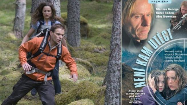 Dobrodružný film s Karlem Rodenem a Melissou George Není kam utéct vychází na DVD