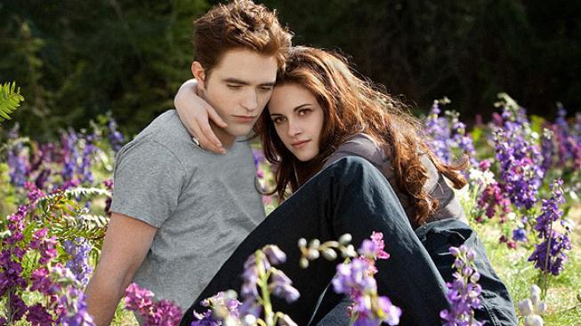 Robert Pattinson, Kristen Stewart ve filmu Twilight sága: Rozbřesk - 2. část