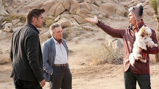 Colin Farrell, Christopher Walken, Sam Rockwell  ve filmu Sedm psychopatů.