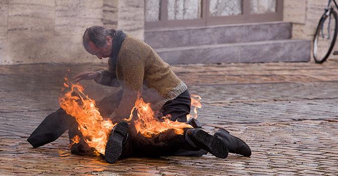Hořící keř