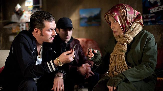Bernadette Lafont ve filmu Hašišbába