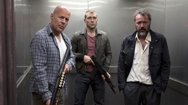 Bruce Willis, Jai Courtney ve filmu Smrtonosná past: Opět v akci