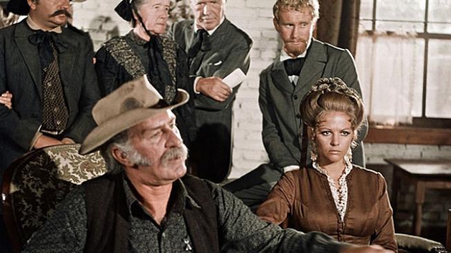 Keenan Wynn, Claudia Cardinale ve filmu Tenkrát na Západě