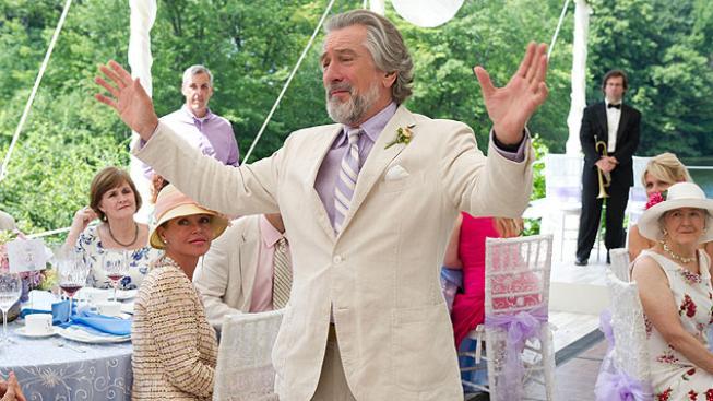Robert De Niro ve filmu Velká svatba