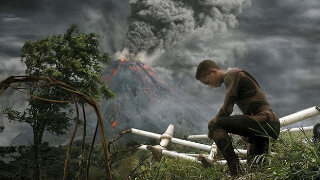 Jaden Smith ve filmu Po zániku Země