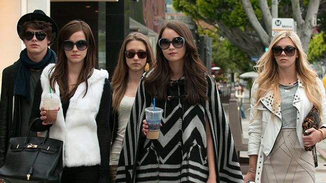 Israel Broussard, Emma Watson, Taissa Farmiga, Katie Chang, Claire Julien ve filmu Bling Ring: Jako VIPky
