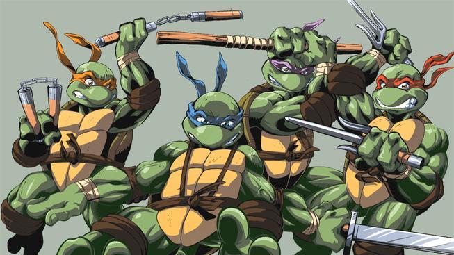 Želvy komiks