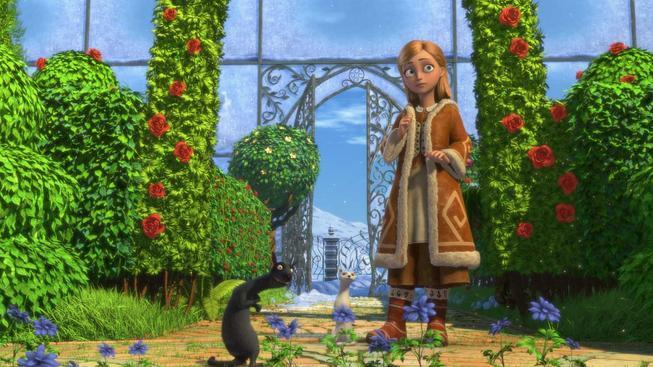Sněhová královna - recenze ruské animované pohádky