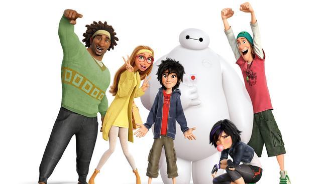 Velká šestka - recenze vydařeného animáku, který pobaví celou rodinu