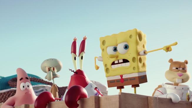 SpongeBob ve filmu: Houba na suchu - recenze opravdu vykutáleného animovaného filmu