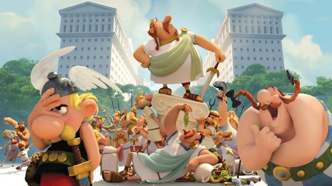 Asterix: Sídliště bohů - recenze nového animáku z galské osady