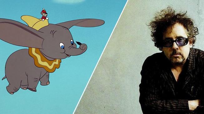 Tim Burton bude režírovat remake Dumba