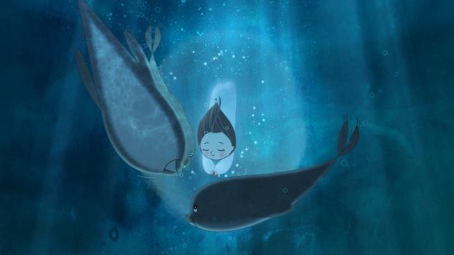 Píseň moře je zajímavá animovaná pohádka