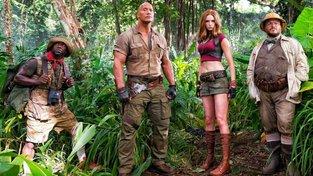 Nové Jumaji pošle do džungle čtveřici hrdinů přes starou videohru