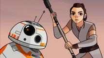 Disney zveřejnila další animované filmečky doplňující příběh nových Star Wars