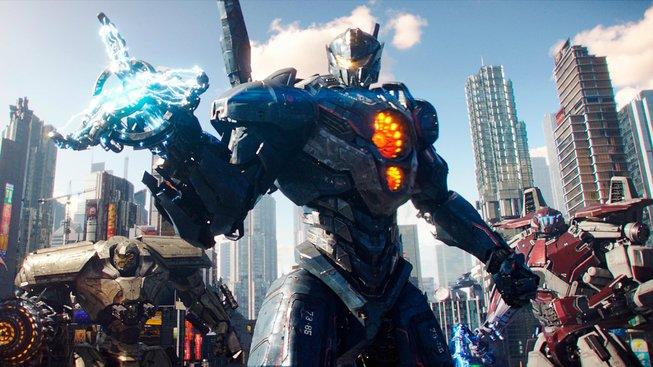 Pacific Rim Uprising připomíná křížence Transformers a Strážců vesmíru
